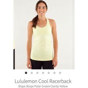 Lululemon Cool Racerback